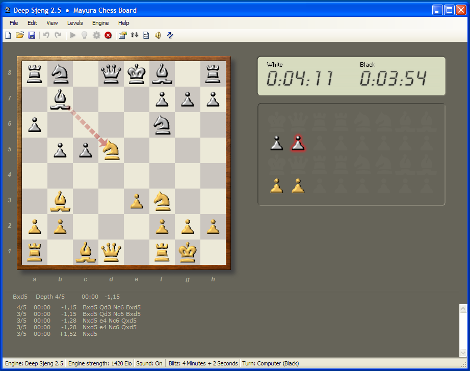 Sjeng - chess, audio and misc  software